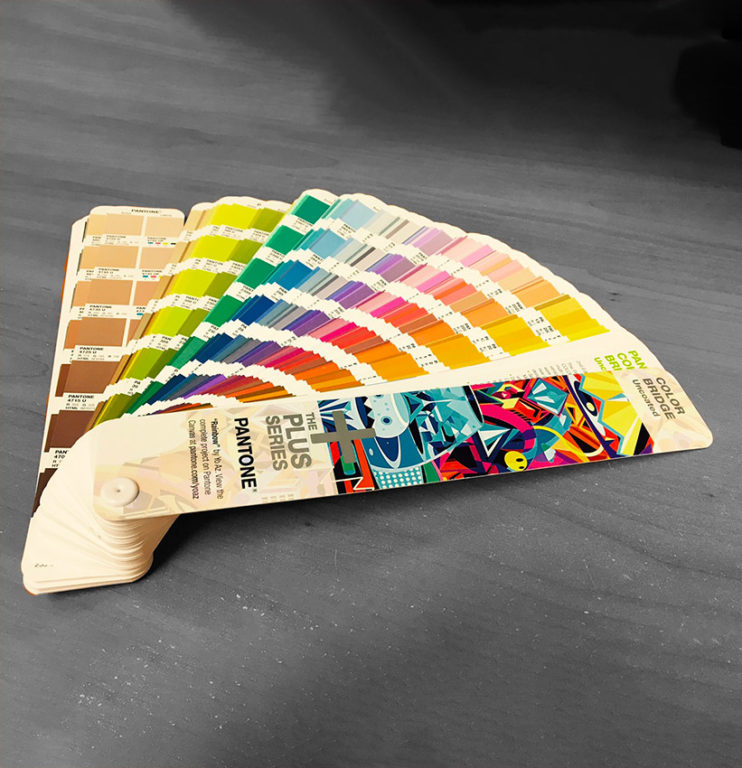 Pantone Color Swatch Book for Design and Printing Service