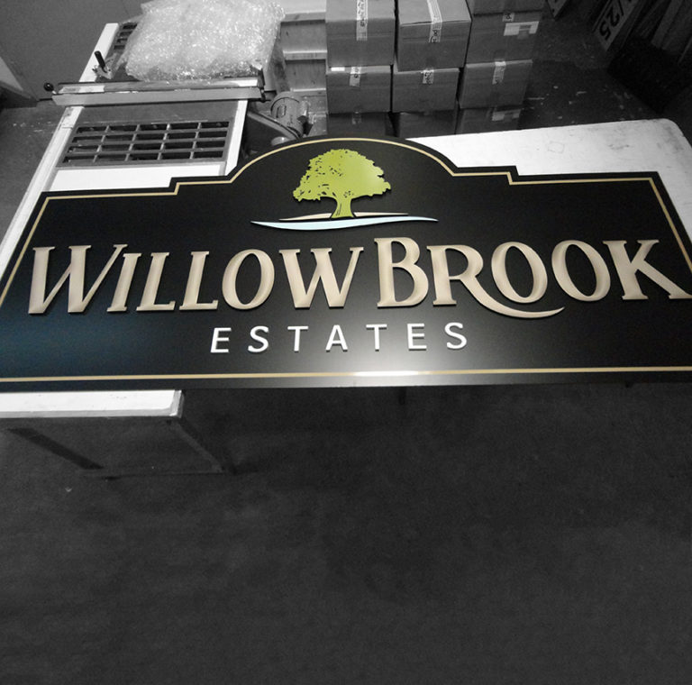 Printing Service Signs Willow Brook Estates