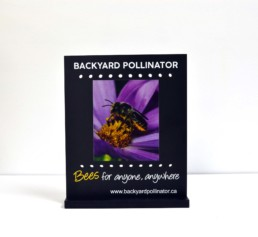 Backyard Pollinator Custom Display Stand