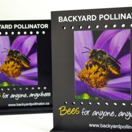 Backyard Pollinator Custom Product Display