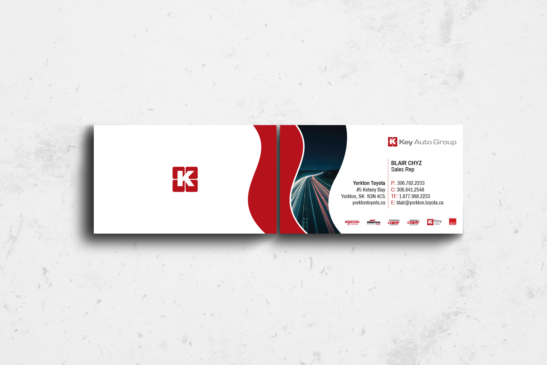 Key Auto Group >> Key Auto Group Business Cards Graphic Ad