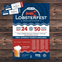 Lions Club Lobsterfest Event Poster & Tickets