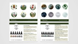 White Wood Herbs Product Cards for Sprout Essences and Jadeite Elixirs