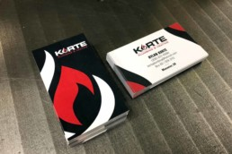 Korte Business Cards