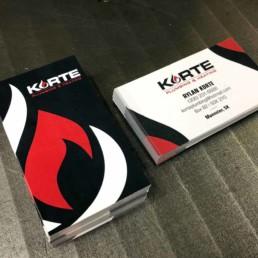 Korte Business Cards