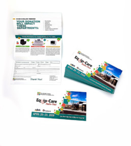 Print and direct mailing for fundraising and flyers