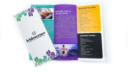 Brochure printing for business