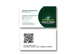 Business Cards for the chamber of business