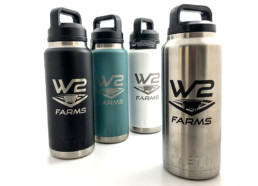 W2 Farms Yeti Water Bottles